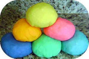 ~Poppii Dough~Homemade Play Dough -Play-Doh Crafts 1lb or 8oz.RED+BLUE+PURPLE++!