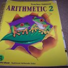 Abeka Arithmetic 2 Curriculum lesson plans & TE to Text