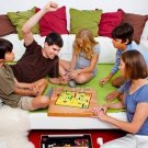 NEW SNAKES&LADDERS CLASSIC BOARD GAME FAMILY FUN CHUTES CHESS+CHECKERS+BINGO !!!
