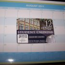 Student Calender 12 Months Aug. 2011-July 2012 Binder
