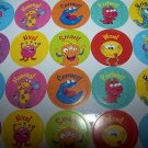 396 Reward Stickers Classroom Homeschool Teacher Cute!!