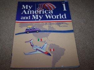 Abeka Grade 1 My America and My World History Reader