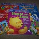 Disney Preschool Workbook Homeschool learn with Pooh