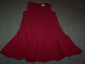 Girls Size 6 Dress By N-Kids Cute Red