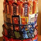 3 Tier Candy Bar Cake