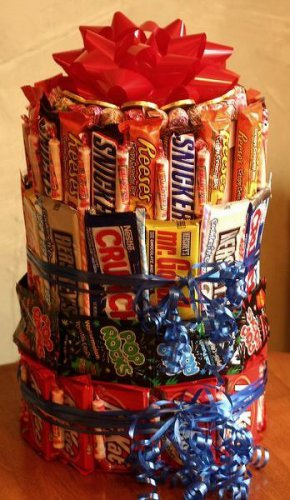 3 Tier Candy Bar Cake