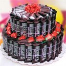 2 Tier All Hershey&#39;s Candy Bar Cake