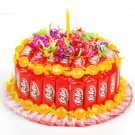1 Tier KitKat Candy Bar Cake