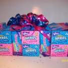 1 Tier Nerds/Sweettarts Candy Bar Cake