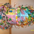 3 Large Tier Easter/Spring Candy Bar Cake