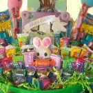 Large Easter Basket fill with Various Candies