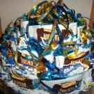 9&quot; Round Rice Krispy, Heath and Rolo Candy Bar Cake