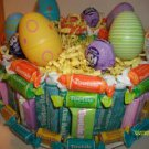 "8"" Round Everything Tootsie Roll Easter Single Tier Cake"
