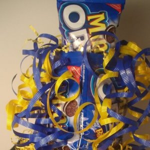Oreo Candy Bar Cake