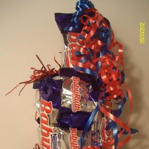 Baby Ruth Candy Bar Cake