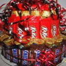KitKat and Reece&#39;s Butter Cup Candy Bar Cake