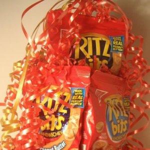 Ritz Bits n Peanut Butter Cracker Cake