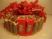 KitKat & Whooper's Candy Bar Cake