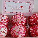Strawberry N Creme Flavored Cake Bites Dz.