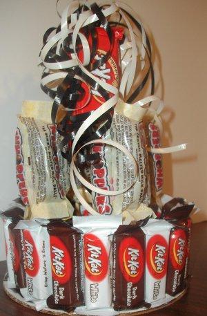 KitKat Candy Bar Cake