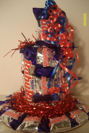 BabyRuth Small Candy Cake