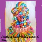 Whirly Pop Candy Bar Cake