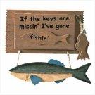 """""""Gone Fishin'"""" Key Holder"""