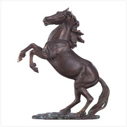 Liberty Bronze Stallion Statue