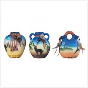 Mini Southwestern Vase Set