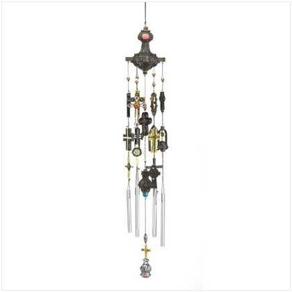 Byzantine Cross windchime