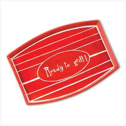 """""""Ready to Grill"""" Plate"""