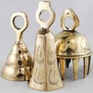 Medium Clear Toned Brass Bell