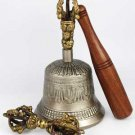 Brass Bell and Dorje with Striker