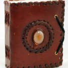 Small God's Eye Leather Blank Book
