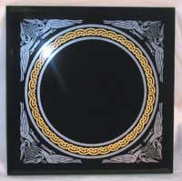 Celtic Knot Scrying Mirror 8 x 8