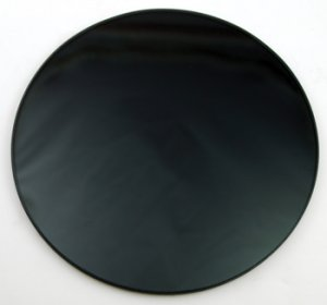 Black Scrying Mirror 6""