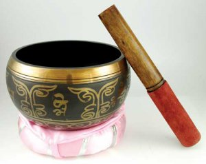 "6"" Tibetan Singing Bowl brass"