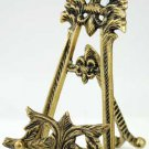 Large Brass Scrying Mirror Stand