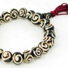 Tibetan Spiral Bead Bracelet