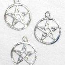 """1/2"""" Pentagram Charm 10 Pack"""