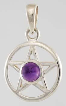 Small Amethyst Pentagram