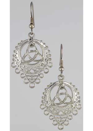 Triquetra Filligree Earrings