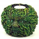 Greenman Tealight Holder
