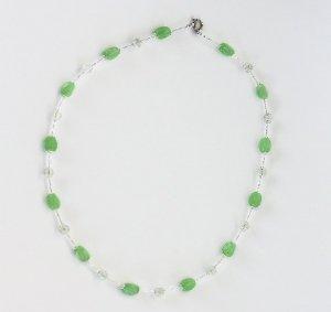 Jade Green Necklace