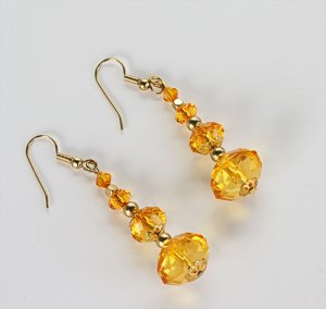 Triple Topaz Dangles