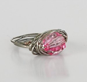 Pink Wrap Me Up Ring