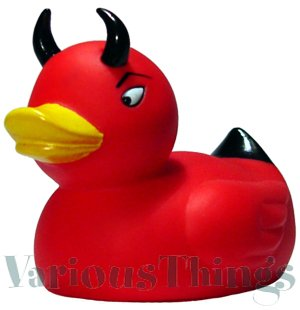 Devil Duckie - Red