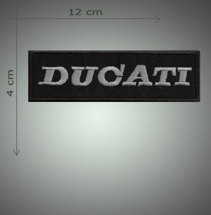Ducati embroidered  patch