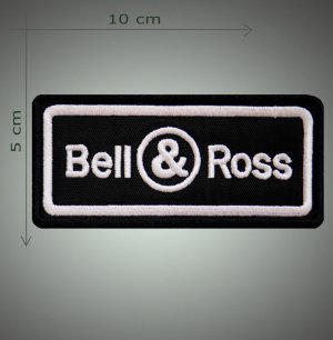 Bell & Ross embroidered  patch