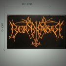 Borknagar embroidered patch